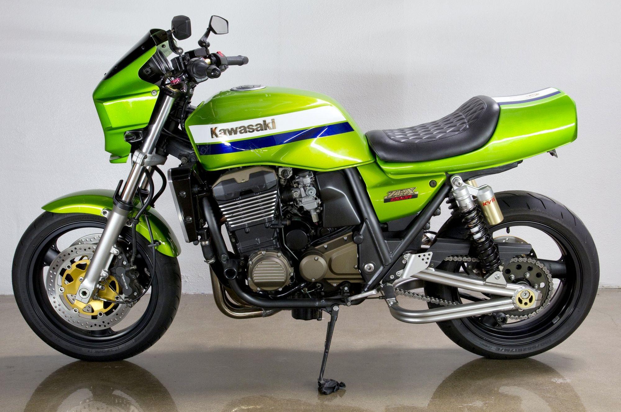 The Kawasaki ZRX1200R Green - Eddie Lawson Replica