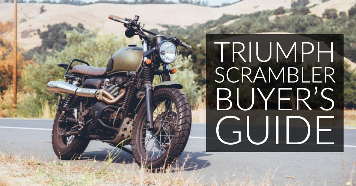 Triumph Scrambler Buyer's Guide: Modern Thunder