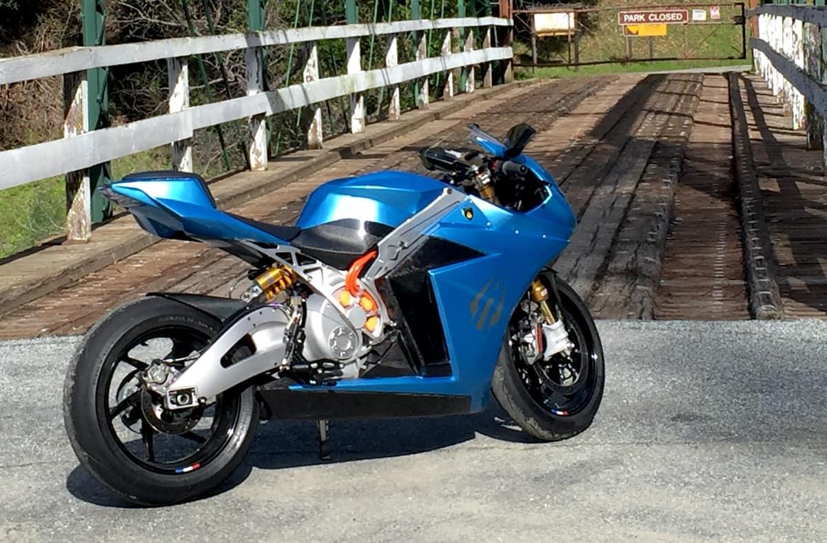 Lightning Strike carbon electric superbike