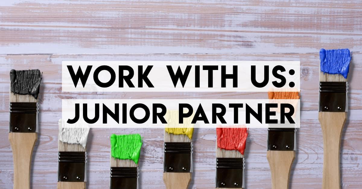 Job posting: Junior Partner