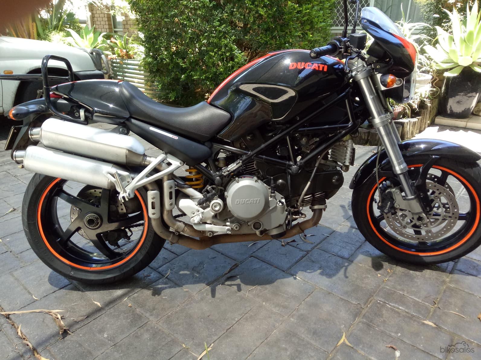 Black Ducati Monster S2R800
