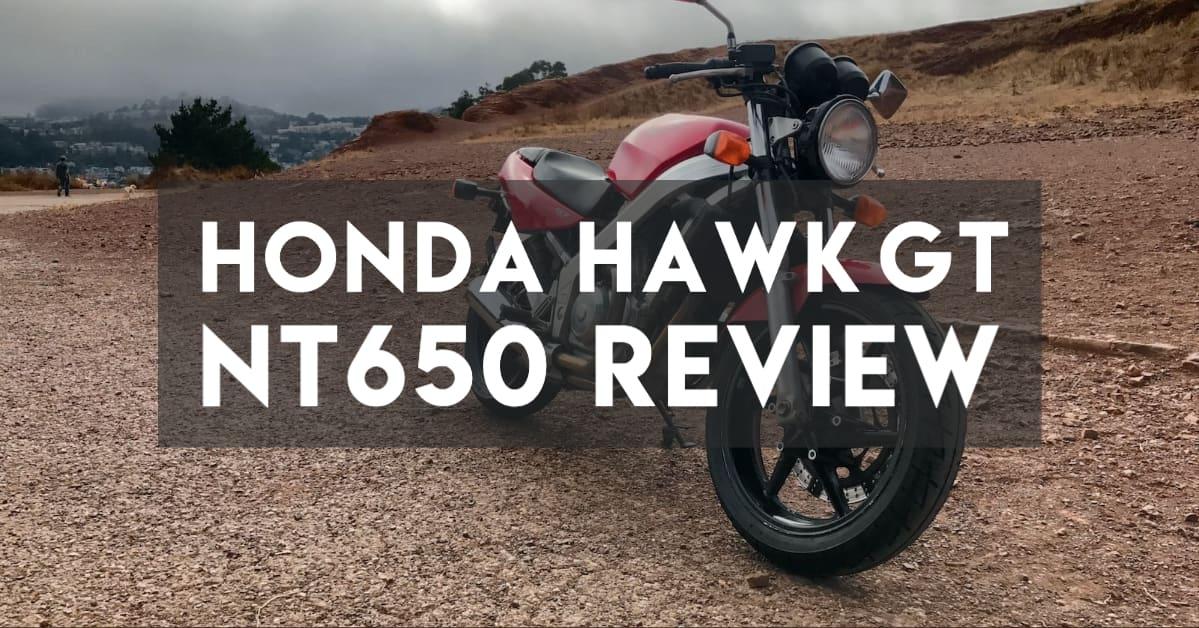 Honda Hawk GT NT650 Review —Classic, but Kinda Slow
