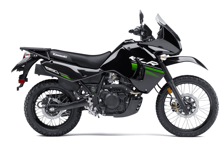 Kawasaki KLR650 stock photo