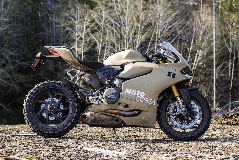Ducati Terracorsa, the ultimate apocalypse motorcycle