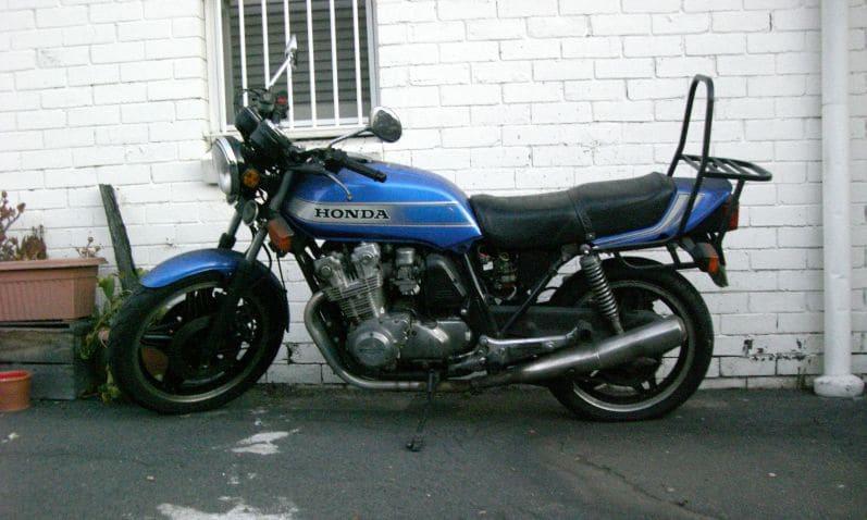 CB900F listed on eBay.