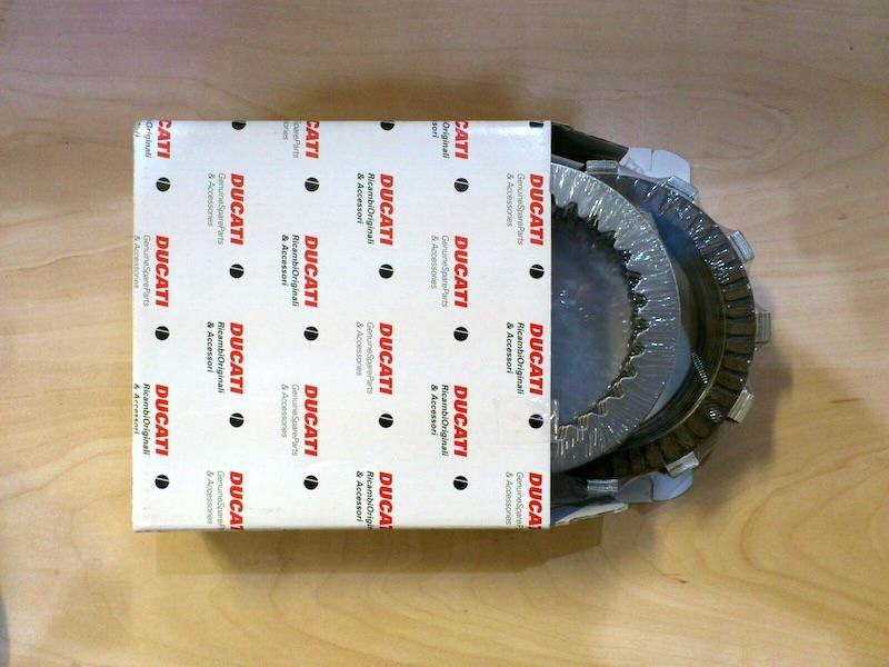 Hyperstrada full clutch pack, part 19020312A