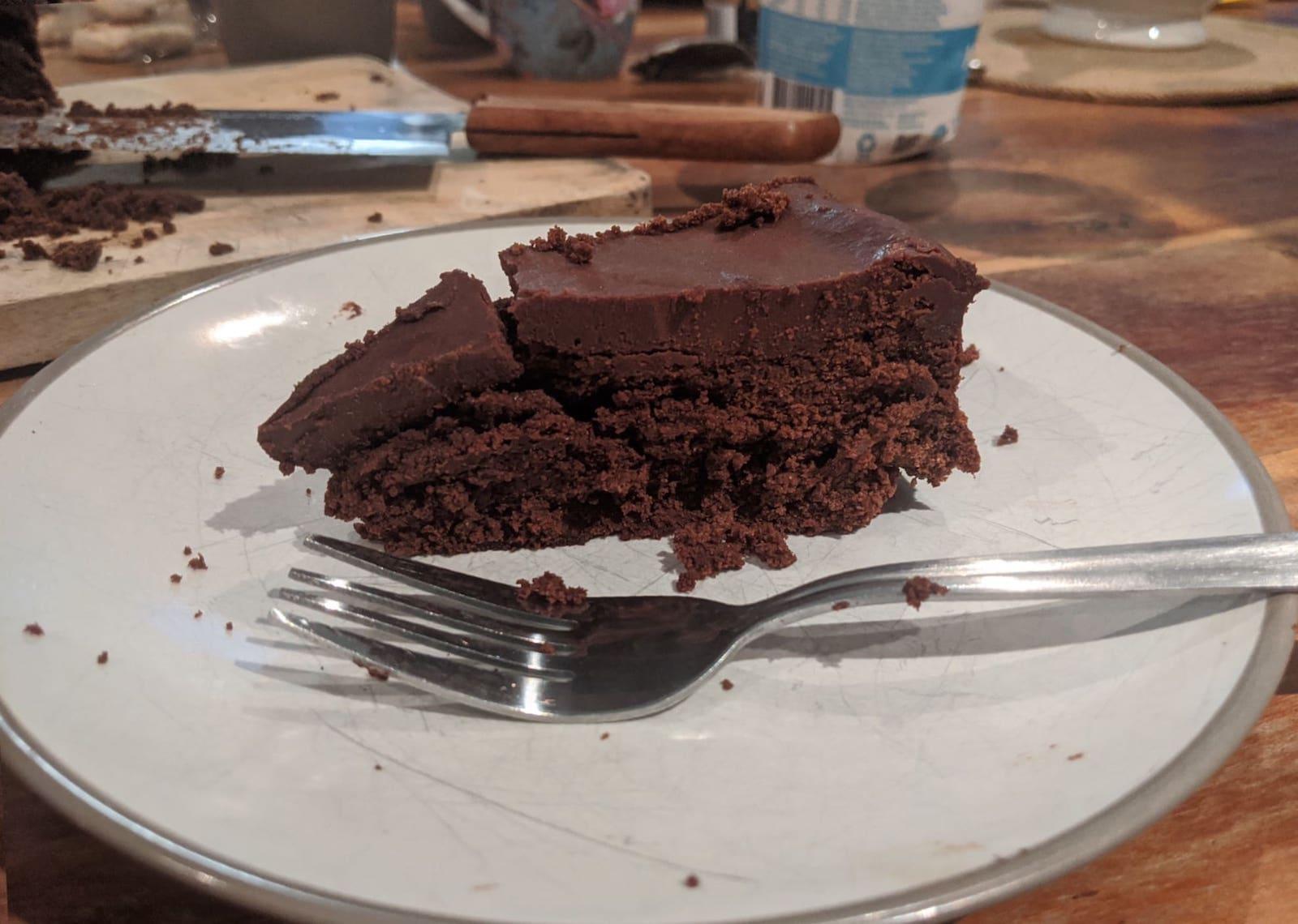 Making Tartine's Chocolate Mousse Cake at Home